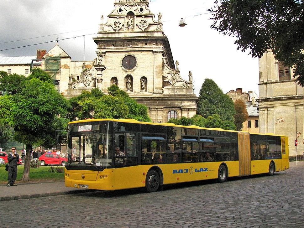 CityLAZ-20LF in Lviv, Ukraine - 002
