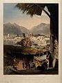 City of Kandahar, with main bazaar and citadel, Afghanistan. Wellcome V0050533.jpg