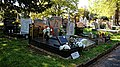 City of London Cemetery ranks of marble graves and headstones 1.jpg
