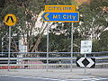 Citylink sign directional at Toorak Road.jpg