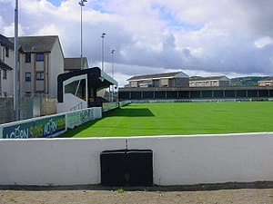 Grant Street Park - Image: Clachnacuddin Football Club ground