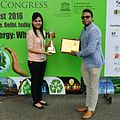 "Clean Air India Movement honored prestigious ""Energy and Environment Foundation Global Award 2016 in golden category.jpg"