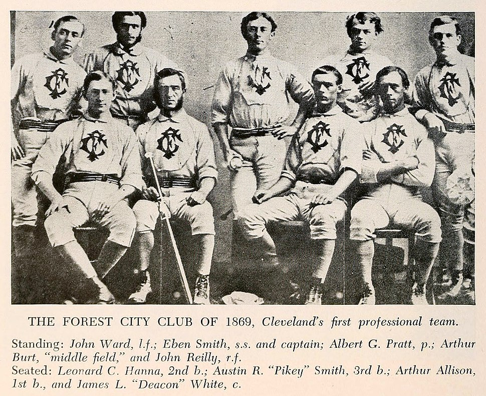 Cleveland Forest Citys, 1869