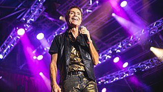 Cliff Richard British pop singer, musician, and actor