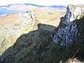 Cliffs at Beinn Mor - geograph.org.uk - 129215.jpg