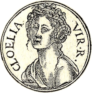 Cloelia Semi-legendary woman from the early history of ancient Rome