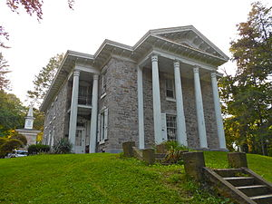 Pottsville, Pennsylvania - The Cloud Home is listed on the National Register of Historic Places