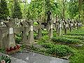 Cmentarz prawosławny na woli kwatera ukraińska.JPG