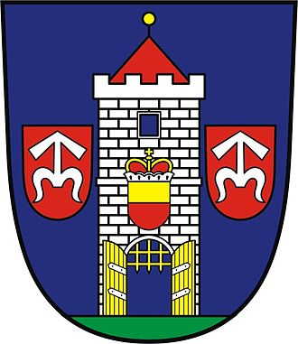 Moravský Krumlov - Image: Coat of Arms of Moravský Krumlov