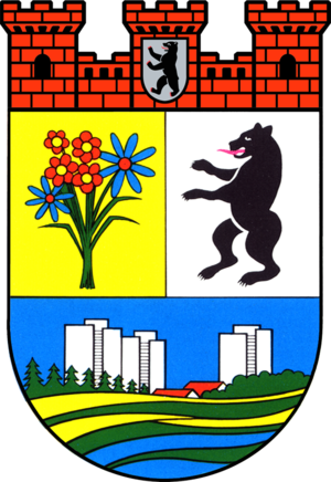 Hellersdorf - Image: Coat of arms de be hellersdorf 1992