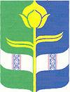 Coat of arms of Malyn Raion.jpg