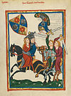 Codex Manesse 316v Friedrich der Knecht.jpg