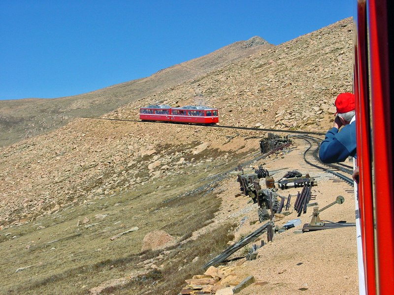 File:Cog Railway to Pikes Peak - panoramio.jpg