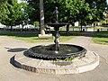 Colburn Park fountain downtown Lebanon NH June 2016.jpg