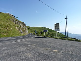 Col d'Ares - French side of the Col d'Ares