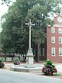 Colonial Annapolis Historic District - memorial cross3.JPG