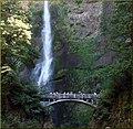 Columbia River Gorge, Multnomah Falls 8-30-13w (10004017705).jpg