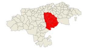 Valles Pasiegos - Image: Comarca del Pas Miera