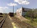 Comboio parado sentido Boa Vista no pátio da Estação Pimenta em Indaiatuba - Variante Boa Vista-Guaianã km 217 - panoramio - Amauri Aparecido Zar….jpg