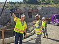Command Sgt. Maj. Federico Boyce tours Folsom Dam spillway project for the first time (16847750021).jpg