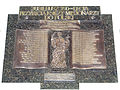Commemorative plaque of Holy Cross church in Warsaw - 01.jpg