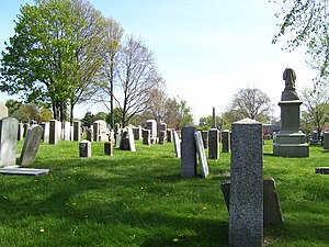 Common Burying Ground and Island Cemetery - Image: Common Burying Ground Newport