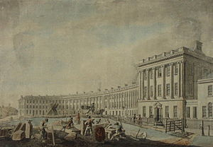 Royal Crescent - The completion of the building work in 1769.