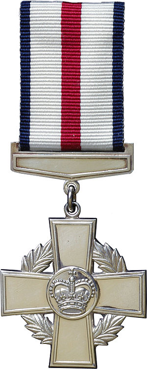 Conspicuous Gallantry Cross - Image: Conspicuous Gallantry Cross obverse