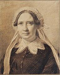 Portrait of Frederikke Vilhelmine Hage, née Faber