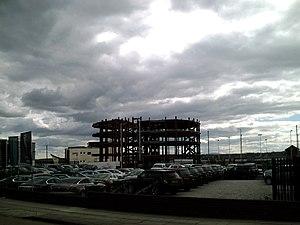 Construction site, Royden Way, Liverpool.jpg
