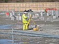 Construction site surveying - geograph.org.uk - 722800.jpg