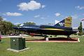 Convair YF2Y-1 Sea Dart 135765 LSide SNF Setup FLAirMuse 15March2014 (14563297246).jpg