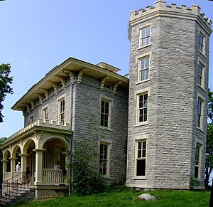 National Register of Historic Places listings in Ottawa County, Ohio - Image: Cooke Castle 1