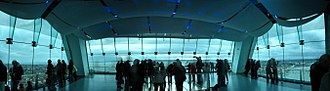 Emirates Spinnaker Tower - Image: Copy of pano 3