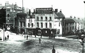 Victoria Square House - Corbett's Temperance Hotel in 1887