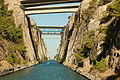 Corinth Canal, Greece (15062058326).jpg