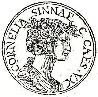 Cornelia (wife of Caesar) Wife of Julius Caesar