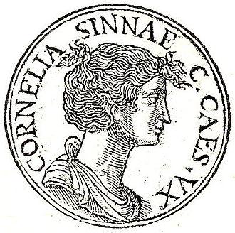 Lucius Cornelius Cinna - Cinna's daughter Cornelia, who married Julius Caesar.