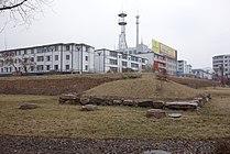 Corner of Gungnae Fortress (GuoNei Fortress).JPG