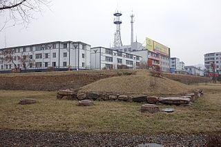 The second capital of Goguryeo kingdom, Three kingdoms of Korea