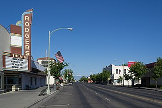 Corning, California - Solano Street in 2013