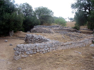 Cosa - Remains of the Temple of Concord and the Comitium