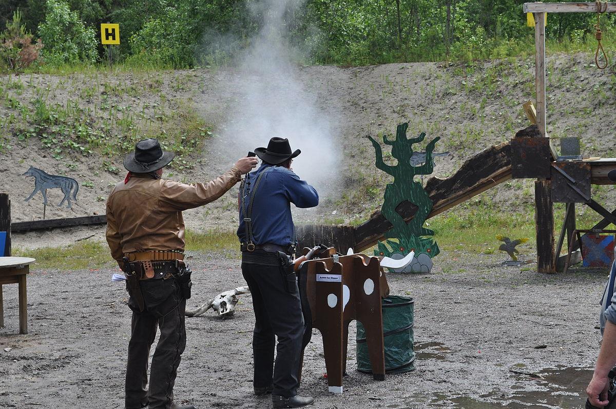 Cowboy action shooting - Wikipedia