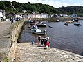 Crabbing at the Cwm (Lower Fishguard) - geograph.org.uk - 531837.jpg