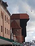Crane Gate Żuraw - середньовічний підйомний кран «Журавель» у Ґданську.JPG