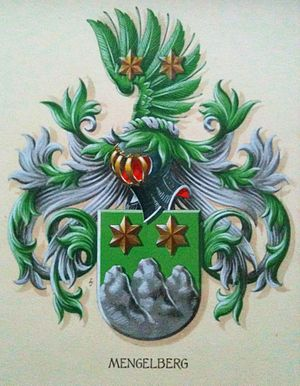 Mengelberg - Coat of arms of the Mengelberg family
