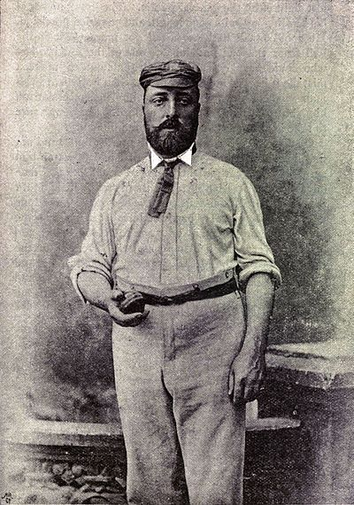 Cricket, WG Grace, 1891- Alfred Shaw.jpg