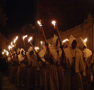Holy Week in Zamora - Holy Week procession in Zamora