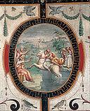 Cristofano Gherardi - Clelia crossing the Tiber on a horse - Google Art Project.jpg