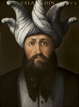 History of the Kurds - Saladin, painted 1568